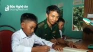 Đồn Biên phòng Nậm Càn nhận nuôi học sinh vùng đồng bào khó khăn
