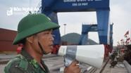 Biên phòng Nghệ An duy trì tối đa quân số sẵn sàng ứng phó bão số 2