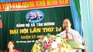 Đại hội Đảng bộ xã Tân Hương (Tân Kỳ) nhiệm kỳ 2020-2025