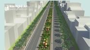 Các phố Lê Mao, Nguyễn Sỹ Sách kéo dài sẽ là những 'mũi tên' mở rộng không gian đô thị Vinh