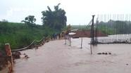 Ngập nhiều cầu tràn ở huyện miền núi Nghĩa Đàn