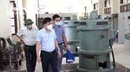 Kiểm tra công tác vận hành các trạm bơm tiêu úng ở TP Vinh trước bão số 8