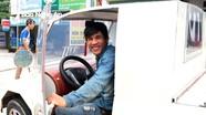 """Anh thợ hàn ở miền núi Nghệ An chế tạo """"ô tô"""" từ động cơ xe máy"""