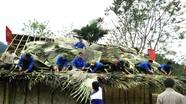 35 thanh niên dựng nhà giúp hộ nghèo