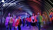 Lung linh sắc màu tại lễ hội đèn led lần đầu tiên ở Thành Vinh