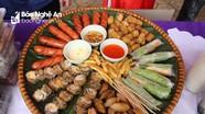 Món ăn 3 miền tại hội chợ ẩm thực vùng cao