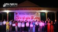 1 tỷ đồng thiện nguyện hỗ trợ người nghèo Đô Lương