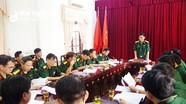 Bộ CHQS tỉnh: Bàn giao chức danh Hiệu trưởng Trường Quân sự tỉnh