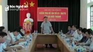 Trưởng Ban Dân vận Tỉnh ủy kiểm tra thực hiện Đề án 01 tại huyện Yên Thành