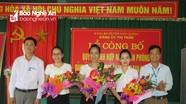 Thị trấn Con Cuông hợp nhất Văn phòng Đảng ủy, HĐND, UBND