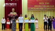 Nghệ An: 3/3 giảng viên chính trị đạt thành tích cao tại hội thi khu vực