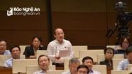 ĐBQH Nghệ An Nguyễn Thanh Hiền: Thu vượt dự toán chủ yếu dựa vào nhà, đất