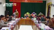 BTV Huyện ủy Quế Phong kiểm điểm tập thể, cá nhân