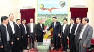 Tòa Giám mục Giáo phận Vinh chúc Tết Tỉnh ủy, UBND tỉnh Nghệ An