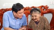 Bí thư Tỉnh ủy Nguyễn Đắc Vinh thăm, tặng quà mẹ Việt Nam Anh hùng tại huyện Thanh Chương