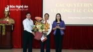 Tương Dương có tân Chủ tịch HĐND huyện và tân Phó Bí thư Huyện ủy