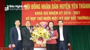 Yên Thành bầu bổ sung chức danh Chủ tịch HĐND huyện