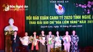 """26 tác phẩm báo chí Nghệ An được trao Giải Báo chí """"Búa liềm vàng"""" năm 2019"""