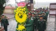 Cán bộ, chiến sỹ Lữ đoàn 414 dâng hương tưởng nhớ các anh hùng liệt sỹ