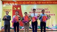 Thanh Chương công bố nghị quyết thành lập xã Đại Đồng