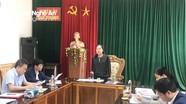 Trưởng Ban Tuyên giáo Tỉnh ủy làm việc tại huyện Quế Phong