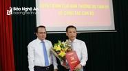 Trao quyết định bổ nhiệm Phó Bí thư Huyện ủy Quỳ Hợp