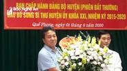 Quế Phong: Hội nghị bất thường bầu bổ sung Bí thư Huyện ủy nhiệm kỳ 2015 - 2020