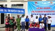 Sôi nổi Chiến dịch Thanh niên tình nguyện hè 2020 ở Nghệ An