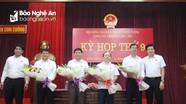 Bầu bổ sung Chủ tịch, Phó Chủ tịch HĐND và Phó Chủ tịch UBND huyện Con Cuông