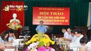 Góp ý bản thảo cuốn sách lịch sử ngành Tuyên giáo tỉnh Nghệ An