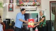 Ban Tuyên giáo Tỉnh ủy thăm, tặng quà các thương bệnh binh