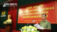 Thứ trưởng Bộ Công an Lê Tấn Tới: Có chính sách thỏa đáng cho đội ngũ công an xã bán chuyên trách