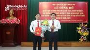 Phó Ban Tổ chức Huyện ủy Quỳnh Lưu làm Bí thư Đảng ủy thị trấn Cầu Giát