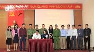 Ra mắt mô hình an ninh trật tự tại Trường Chính trị tỉnh Nghệ An