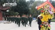 Cục Chính trị Quân khu 4 tưởng niệm Chủ tịch Hồ Chí Minh tại Khu di tích Kim Liên