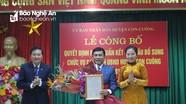 Con Cuông có tân Chủ tịch UBND huyện
