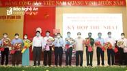 HĐND huyện Anh Sơn khóa XIX bầu các chức danh chủ chốt