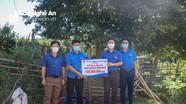Tỉnh đoàn Nghệ An hỗ trợ huyện Tương Dương xây dựng nông thôn mới