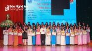 Đại học Vinh: Tuyên dương 107 nữ sinh tiêu biểu