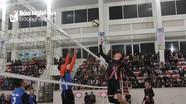 Khai mạc giải bóng chuyền sinh viên Đại học Vinh
