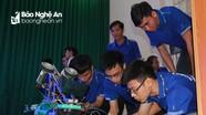 ĐH Sư phạm kỹ thuật Vinh sôi động cùng cuộc thi Robocon 2018