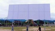 Nhiều nơi ở Nghệ An lắp màn hình lớn xem trận chung kết Việt Nam - Malaysia
