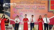 Ngày thơ Việt Nam lần thứ 16 trên quê lúa
