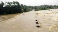 Miền Tây Nghệ An ngập nặng do ảnh hưởng bão số 4