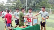 Thanh niên vùng cao tổ chức giải bóng đá quyên góp tiền giúp đỡ người nghèo