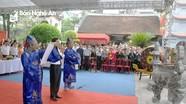 Nghệ An: Hàng nghìn người về đền Hồng Sơn trong ngày giỗ Tổ