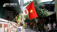 Thành phố Vinh tràn ngập sắc cờ Tổ quốc đón lễ Quốc khánh