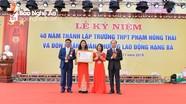 Trường THPT Phạm Hồng Thái đón nhận Huân chương Lao động hạng Ba