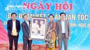Chủ tịch Ủy ban MTTQ tỉnh dự Ngày hội Đại đoàn kết với người dân xã miền núi ở Yên Thành