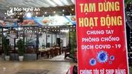 Nhiều quán hàng tại TP Vinh vẫn hoạt động sau 1 ngày có lệnh cấm của Thủ tướng